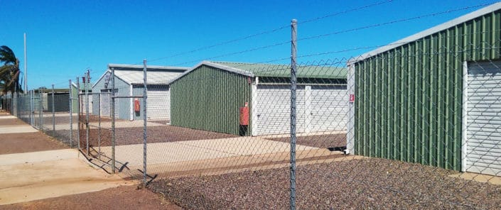 Secure perimeter fencing - Whyalla Self Storage