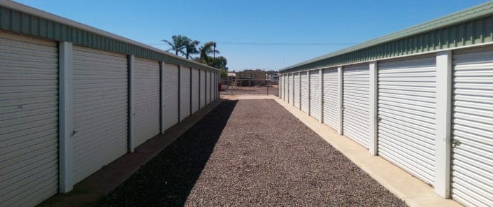 Well-kept site - Whyalla Self Storage