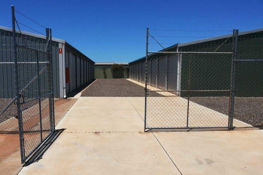 Drive right up to the door - Whyalla Self Storage