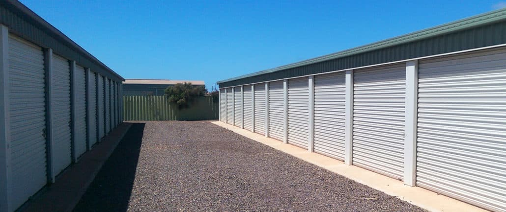 Easy vehicle access - Whyalla Self Storage