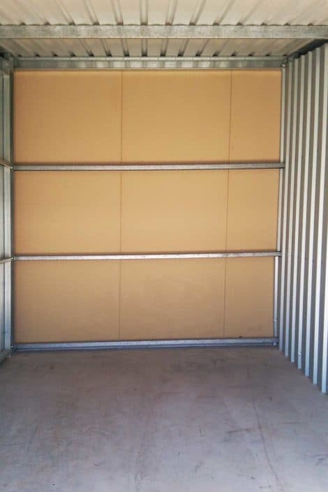 Neat and tidy space - Whyalla Self Storage