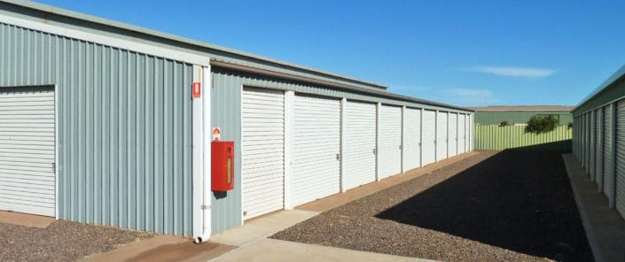 Unload in the shade - Whyalla Self Storage