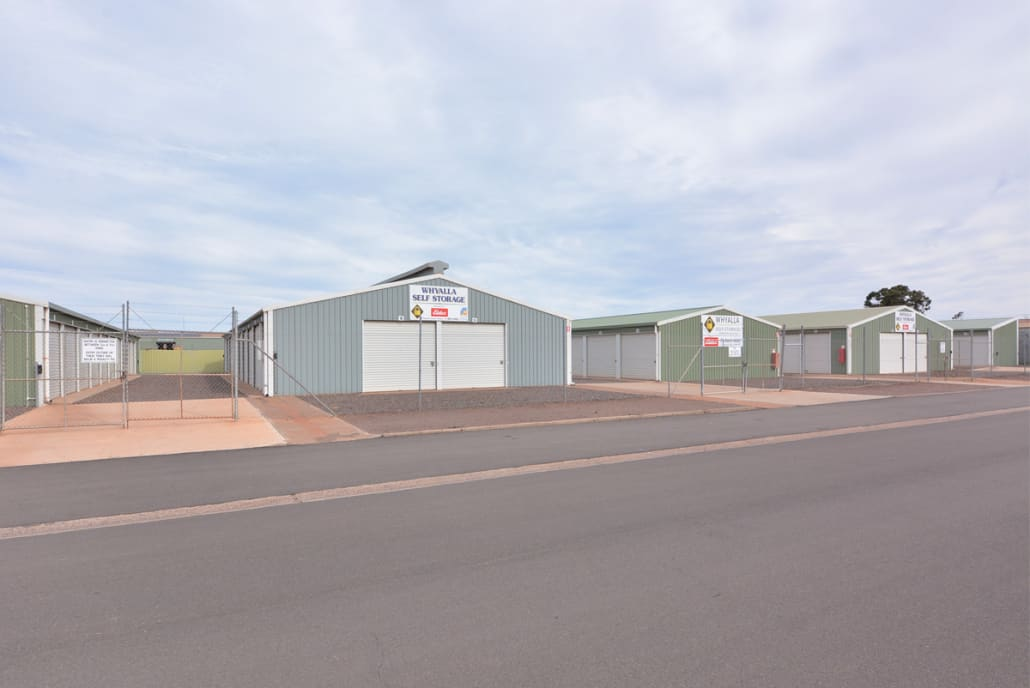 Cook Street view - Whyalla Self Storage
